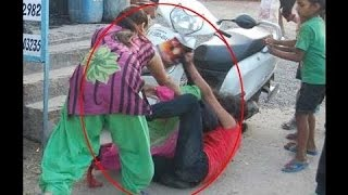 Desi Girls Fighting for Boyfreind on Streets