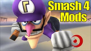 10 FUNNY and AWESOME Mods For Super Smash Bros Wii U