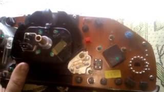 Замена подсветки щитка приборов Mercedes w124