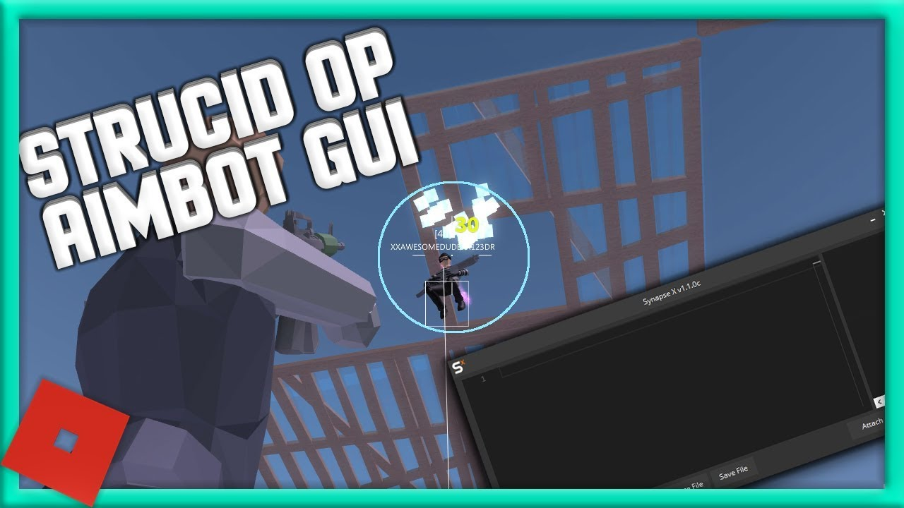 [NEW] ROBLOX HACK!   STRUCID   😱 AIMBOT/ESP 😱 [FREE] [3/15 ...