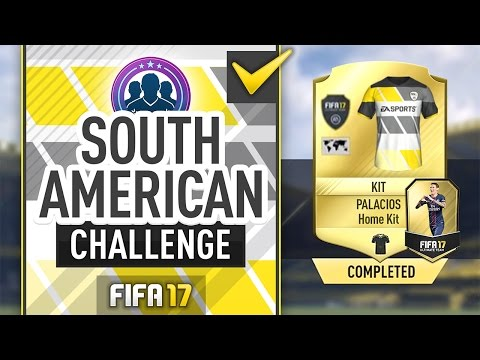 SOUTH AMERICAN TOUR SBC! (VERY EASY!) #FUT17