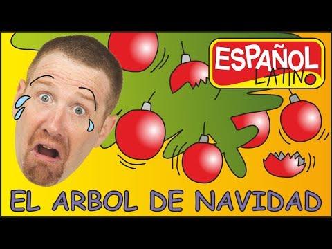 Cancion de Arbol de Navidad | Aprender con Steve and Maggie Español Latino