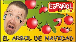 cancion-de-arbol-de-navidad-aprender-con-steve-and-maggie-espaol-latino