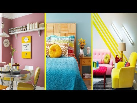 DIY ROOM DECOR! 20 Easy Crafts Ideas at Home for Teenagers 2018