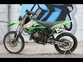 2005 Kawasaki KX125 ... lean, mean , green MX race machine!
