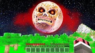 KORKUNÇ AY'A SAKIN BAKMAYIN! 😱 - Minecraft