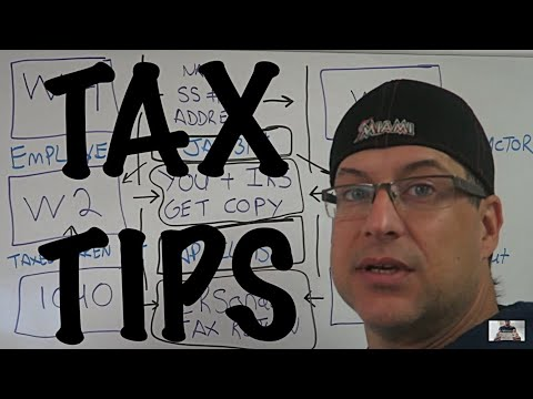 W4 or W9 - W2 or 1099 - 1040 / Income Tax Tips #9 / Showing a flowchart of taxes for workers / CPA