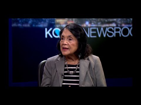 Dolores Huerta and Peter Bratt on Dolores