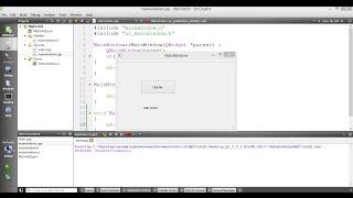 How To Create First Qt GUI Widget Application in C++ Using Qt Creator