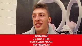 Noah Batchelor: 2019 USA Basketball Junior Minicamp Interview