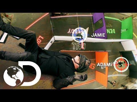 Jamie y Adam se desafían a muerte  Mythbusters: Los cazadores de mitos  Discovery Latinoamérica