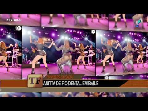 Anitta deixa todos de queixo caído com figurino ousado em São Paulo