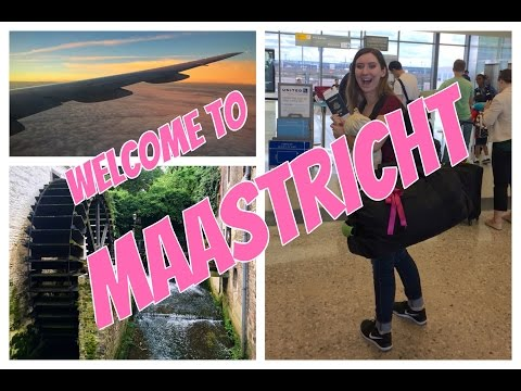 Welcome to Maastricht // Week 1 // CC Overseas Travel Vlog