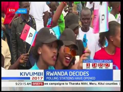Rwanda Decides : Paul Kagame seeks to have a third after serving for 17 years