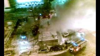 Пожар на Б-ре Рокоссовского 24.01.2010 03:00(, 2010-01-24T04:53:17.000Z)