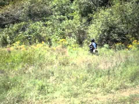 Dirt Biking At The LandFill