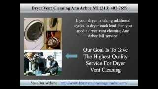 Dryer Vent Cleaning Ann Arbor MI