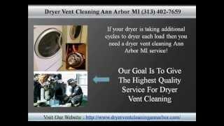 Dryer Vent Cleaning Ann Arbor MI