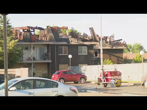 Dozens Displaced By Prospect Heights Fire