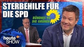 Oliver Welke interviewt Grünen-Chef Robert Habeck   heute-show vom 02.11.2018