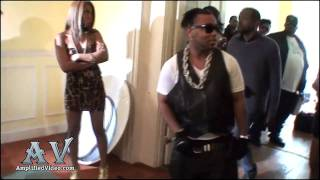 Pretty Ricky & H-Town Video Shoot [Behind The Scenes]