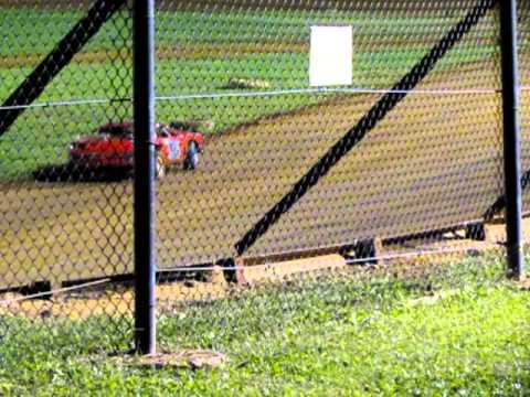 9-24-11 Sportsman Heat Race Bluegrass Speedway