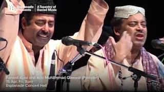 Due to unforeseen circumstances, abu muhammad will not be performing as part of fareed ayaz and qawwal previously announced. the performance ...