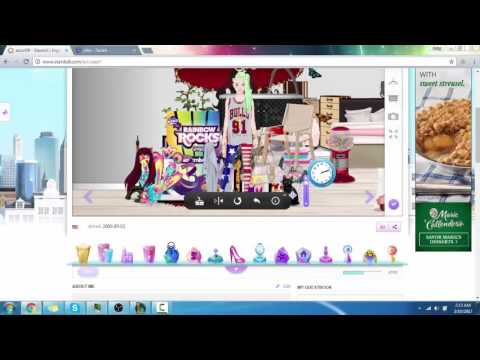 HOW TO GET FREE THINGS ON STARDOLL 2017!!!