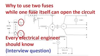 Why fuse in both terminals of DC | Interview Question | PiSquare Academy