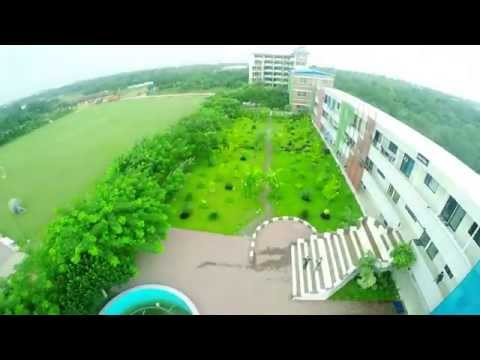 Aerial Video of Daffodil International University Permanent Campus