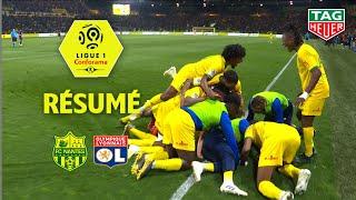 FC Nantes - Olympique Lyonnais ( 2-1 ) - Résumé - (FCN - OL) / 2018-19