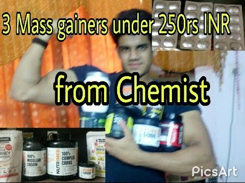 Mass Gainer From Chemist Under 250rs INR