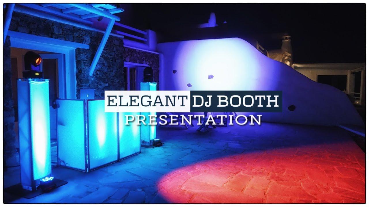 Elegant Stylish Wedding Dj Setup Mike Vekris Entertainment Djs In Greece You