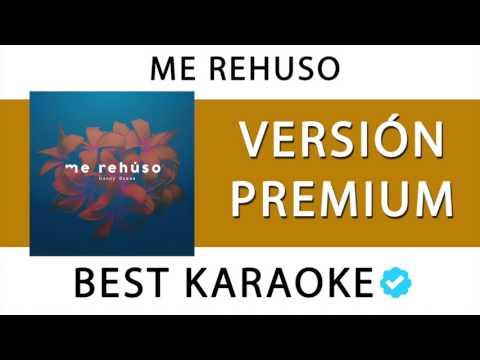 ME REHUSO - DANNY OCEAN  (VERSION PREMIUM KARAOKE - MIDI - WAV) 127
