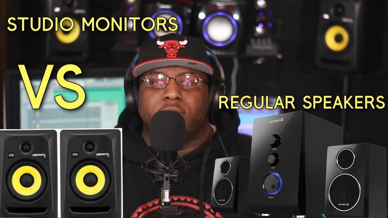 studio monitors vs regular speakers youtube. Black Bedroom Furniture Sets. Home Design Ideas