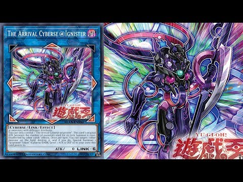 Yu Gi Oh The Arrival Cyberse Ignister Deck Ignister 2020 ジ アライバル サイバース イグニスター Youtube