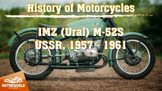 IMZ M-52S  | 1960, USSR. Review & test-drive.