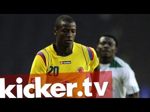 WM - Adrian Ramos - Kolumbiens neuer Hoffnungsträger - kicker.tv