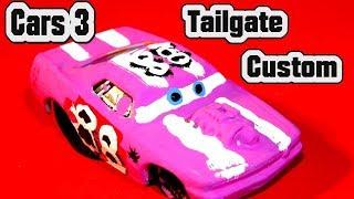 Pixar Cars 3 Custom Tailgate Demolition Derby Crazy 8 Race Cars with Primer Lightning McQueen Cars