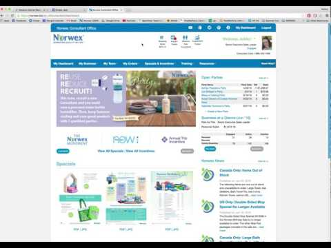 Norwex NEW Consultant- NEW Back office Training