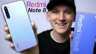 Redmi Note 8 Unboxing & First Look - Amazing Design!