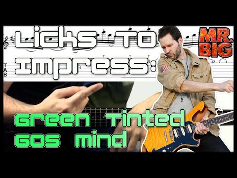 Green Tinted Sixties Mind Guitar Intro Lesson Guitar Licks To Impress