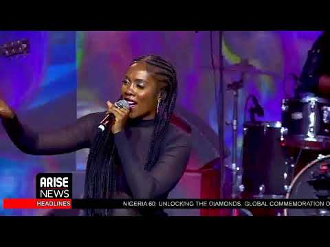 Tiwa Savage's Performance at THISDAY/ARISE Group's Global Virtual Commemoration - Nigeria @ 60