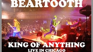 Gambar cover Beartooth - King of Anything (LIVE) Chicago House of Blues 10/2/2016
