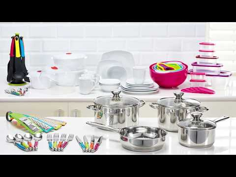 The Cambria 89-piece kitchen set