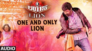 One And Only Lion Full Audio Song | Lion | Nandamuri Balakrishna, Trisha Krishna …