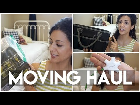 Moving Haul: Packing up & Flying out