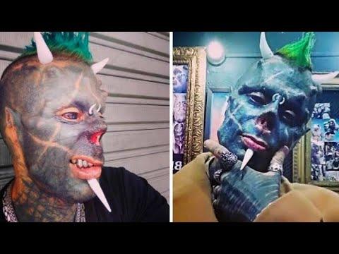 "Man Who Wants To Become ""Human Satan"" - Michel Faro do Prado documantry - YouTube"