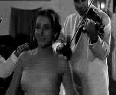Ellie Lambeti dancing to a Cretan tune 1958