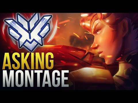 WHY ASKING SHOULD BE IN OVERWATCH LEAGUE - Overwatch Montage